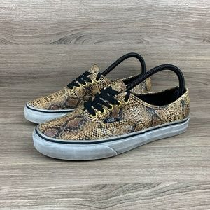 Vans Leather Snakeskin